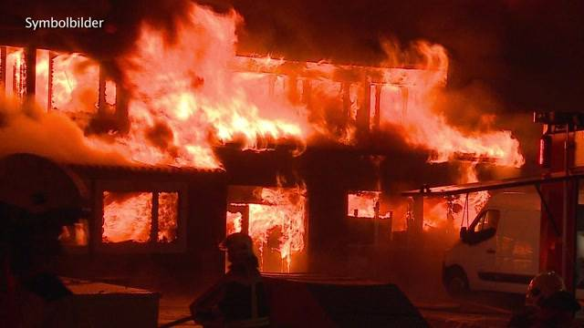 Wenn Heizstrahler Brände entfachen