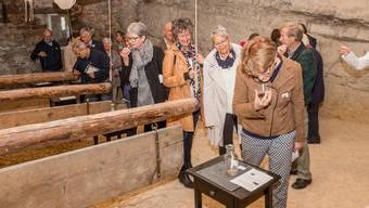 Auch dank des Festivals der Düfte auf Schloss Wildegg zählte das Museum Aargau 2017 so viele Besucher wie noch nie.