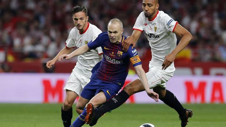 Andres Iniesta wurde mit dem FC Barcelona neunmal spanischer Meister und gewann mit den Katalanen viermal die Champions League