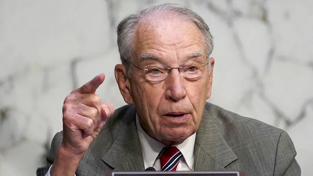 Senioren in US-Politik: 88 Jahre alter Senator kandidiert erneut