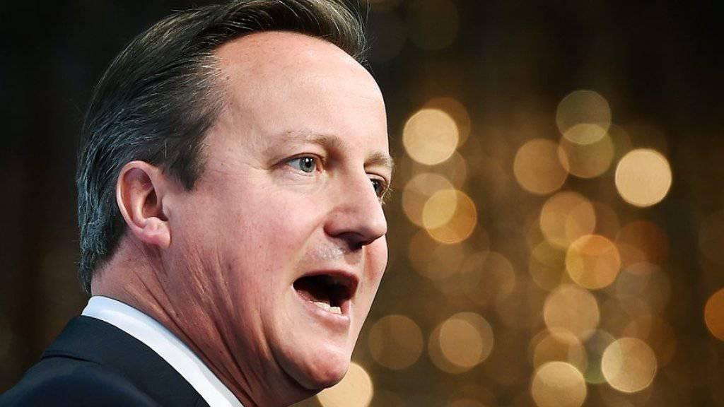 Das Referendum über den Verbleib in der EU sei «die wichtigste Wahlentscheidung» im Leben der Briten, sagte David Cameron.