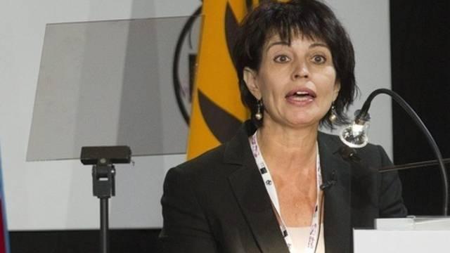 Bundesrätin Leuthard ruft zu Investitionen in saubere Technologien auf (Archiv)