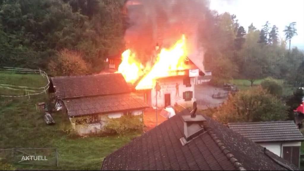 Nach Brand in Mellikon: Freispruch für Beschuldigte