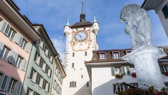 Im Stadtturm in Baden war bis 1984 ein Untersuchungsgefängnis untergebracht. Einblick in die Zellen.