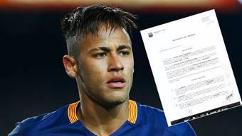 Neymar und sein Vertrag