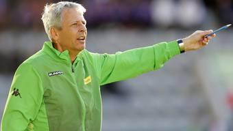 Lucien Favre dirigiert Borussia Mönchengladbach zum Sieg gegen den FC Sion.