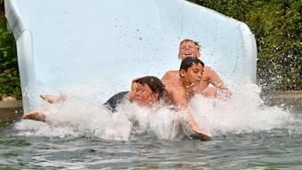 So erlebte die Badi Schönenwerd die Hitzetage (Juni 2019)