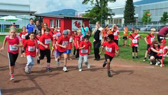 350 nahmen am Jugendsporttag in Grenchen teil.