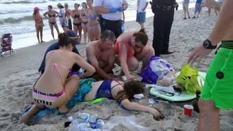 Hai-Attacke auf Teenager in den USA