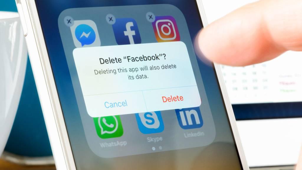 Über 40 Prozent der amerikanischen Facebook-User haben die App gelöscht.