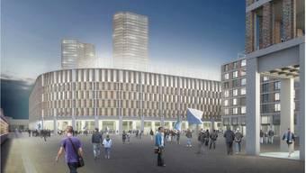 «Portal Hardturm» des Badener Architekturbüros Burkard Meyer