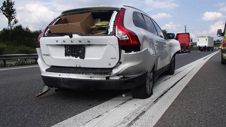 Hunzenschwil/A1: Verkehrsunfall im Feierabendverkehr