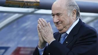 Nicht mehr Single: FIFA-Boss Sepp Blatter (Archiv)
