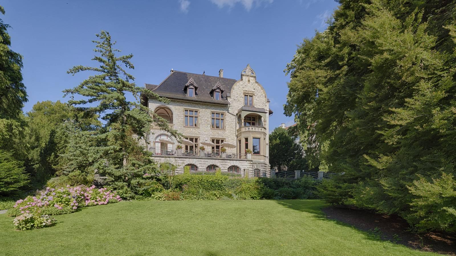 Villa Boveri Aussenaufnahme