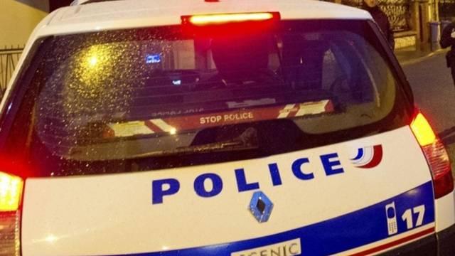 Ein französisches Polizeiauto (Symbolbild)