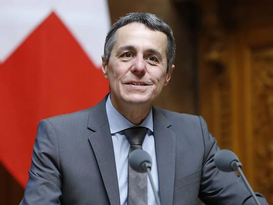 Bundesrat Ignazio Cassis