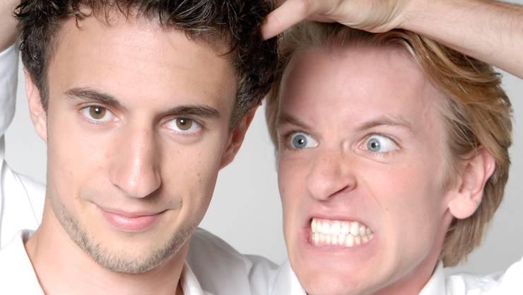 Das deutsche Duo «Ass-Dur» tritt am 17. November in der Cabarena auf.