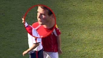 Alex Frei bespuckte an der EM 2004 Englands Starspieler Steven Gerrard