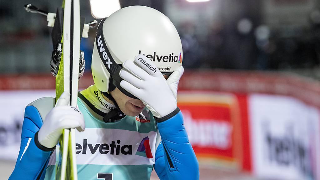 Simon Ammann scheitert in der Qualifikation