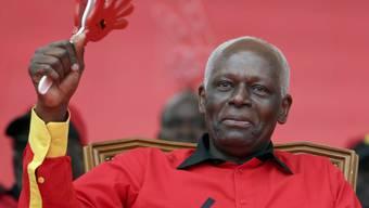 José Eduardo dos Santos hat genug: Der Langzeitpräsident von Angola will sein Amt nächstes Jahr abgeben. (Archivbild)