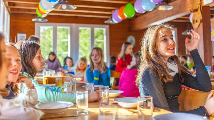 Zahlreiche Lager der Schlieremer Schulen finden im ehemaligen Ferienhaus der Stadt in Parpan statt.