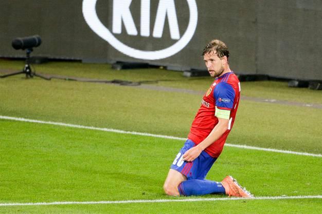 Fabian Frei zum in der 88. Minute zum 1:0.