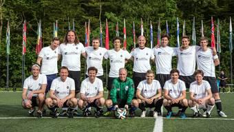 Das Fussballteam der Nordwestschweiz spielte gegen die FIFA