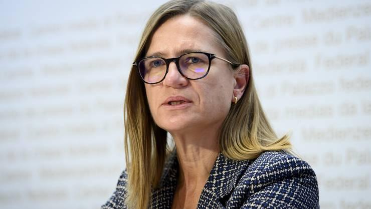 Rückgang vor allem am Genfersee: Virginie Masserey sieht eine regionale Verschiebung der Epidemie.