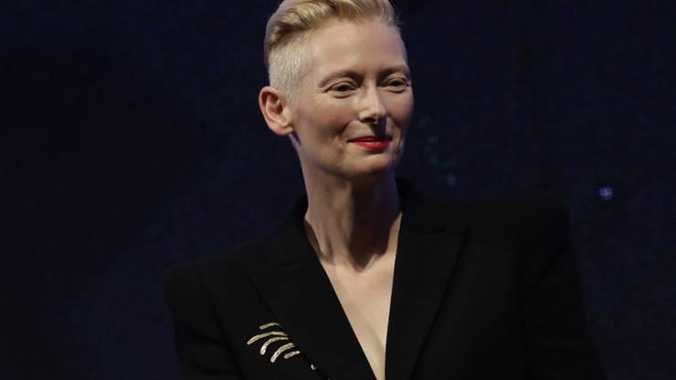 """Das wäre ein Coup gewesen: Petra Volpe, Regisseurin von """"Die göttliche Ordnung"""", wollte Schauspielerin Tilda Swinton (Archivbild) vor die Kamera holen."""