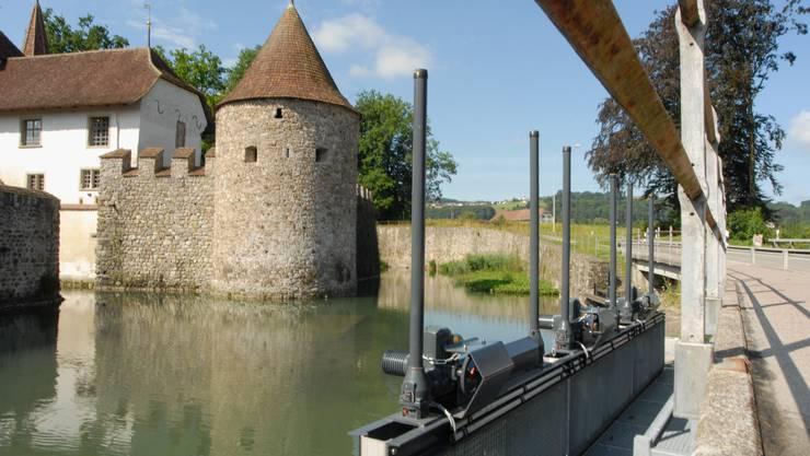Schloss Hallwyl: Eine Führung im und um das Schloss mit Kurator Thomas Frei am Samstag um 14 Uhr. Walter Schwager