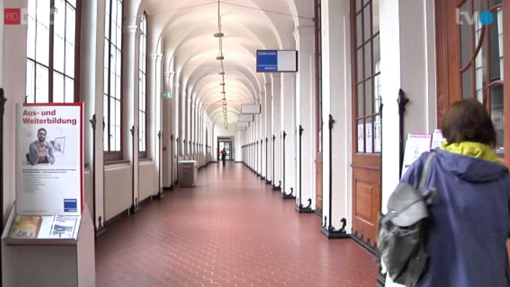 Der Westflügeldes Bahnhofs St.Gallenist verwaist, ab Montag wird umgebaut