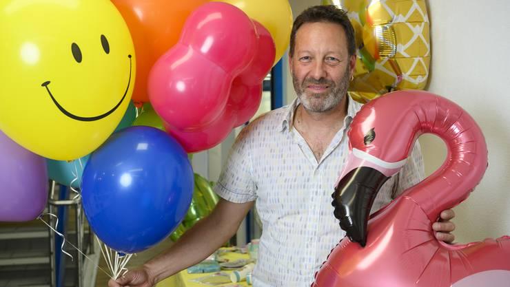 «Folienballons brauchen mehrere hundert Jahre, um zu verrotten», sagt Martin Müller.
