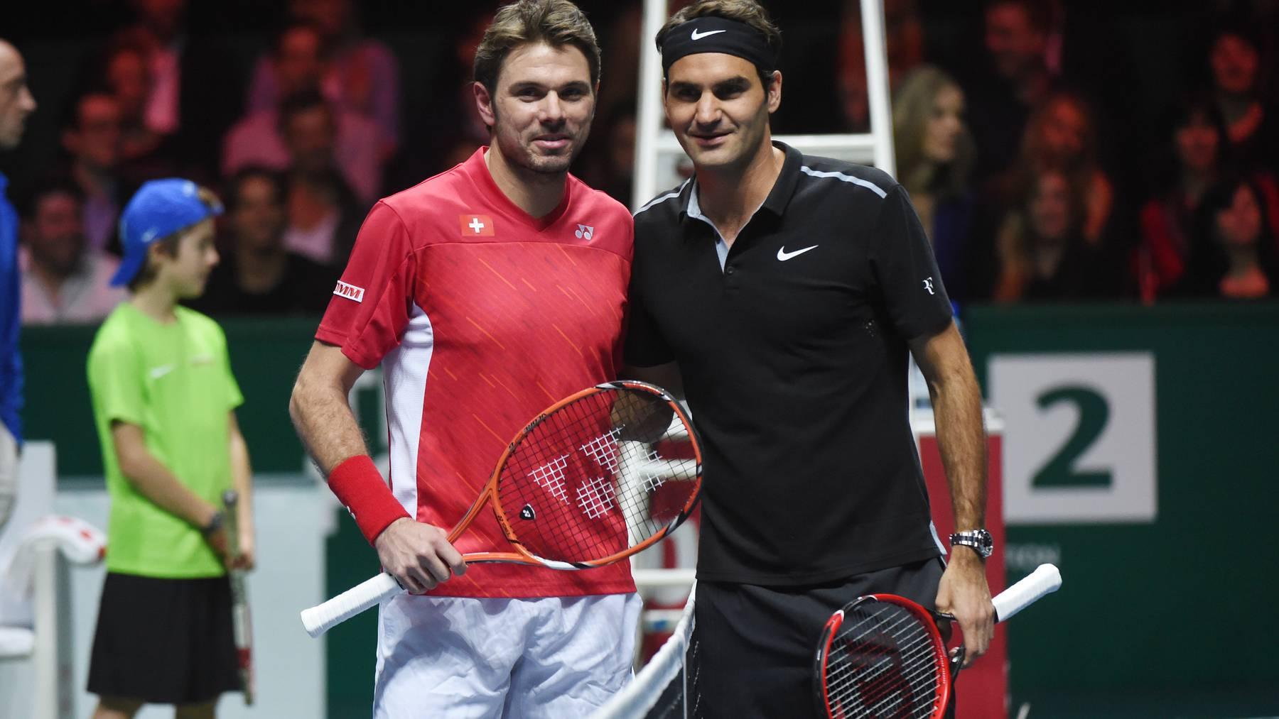 Federer und Wawrinka im Viertelfinal