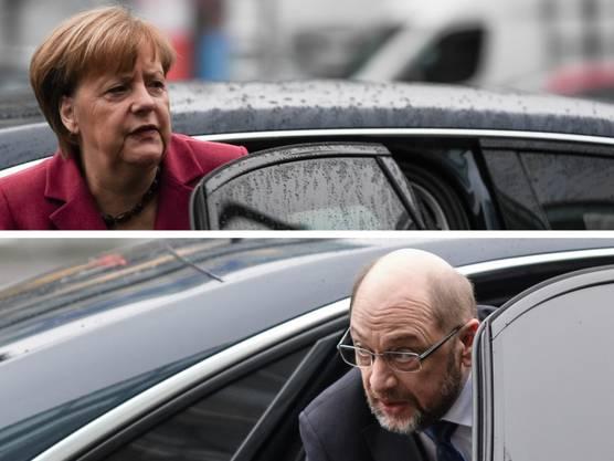 Zuerst schloss Schulz eine Koalition mit Merkel aus, dann willigte er ein. Zuerst schloss Schulz ein Ministeramt unter Merkel aus, dann wollte er Aussenminister werden.