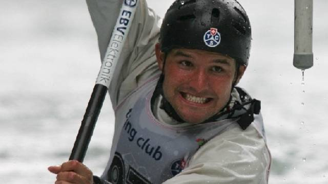 Der siebenfache Schweizer Meister Mike Kurt im Halbfinal