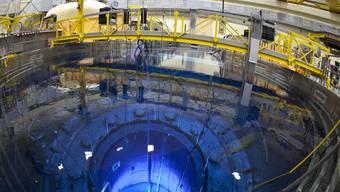 Der Reaktordruckbehälter des AKW Mühleberg (Archiv)