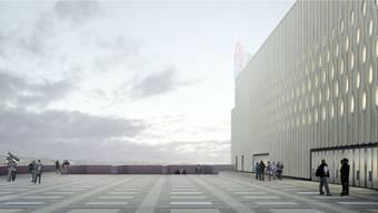 11 600 Zuschauer werden voraussichtlich ab 2022 die Spiele der ZSC Lions im neuen Eishockeystadion mitverfolgen können.