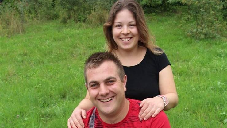 Luana Müller und Toni Zihlmann haben sich gefunden.