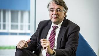 Siegfried-CEO Rudolf Hanko im neu bezogenen Hauptsitz in Zofingen.