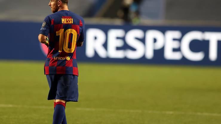 Lionel Messi will den FC Barcelona verlassen und stürzt damit den Klub weiter in die Krise