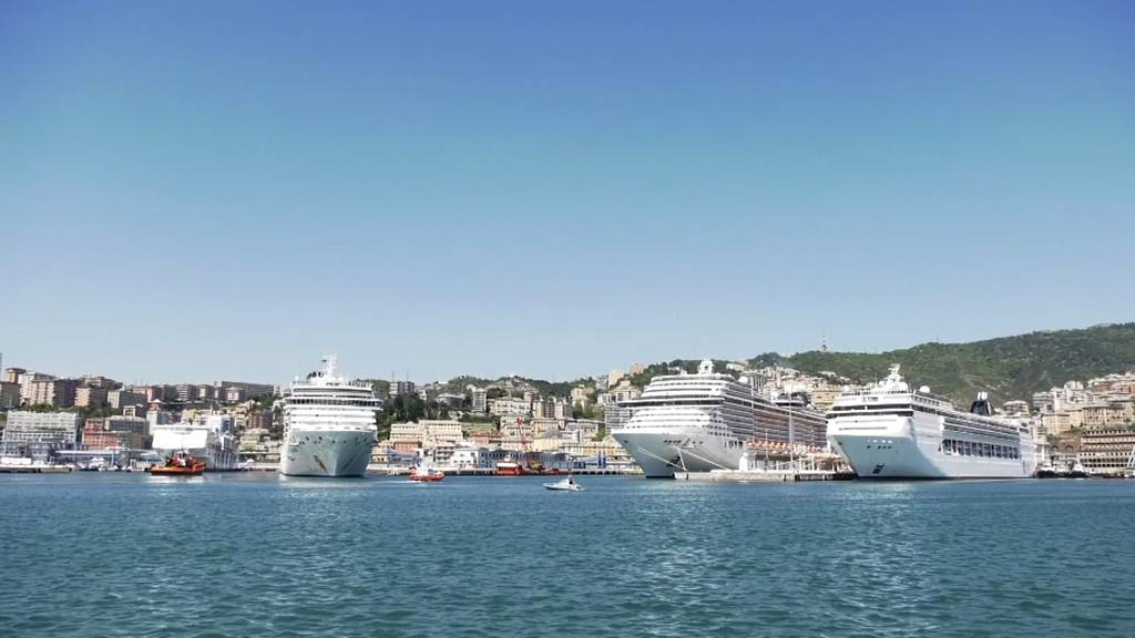 Kreuzfahrtschiffe nehmen den Betrieb in Italien wieder auf