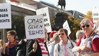 Mit der Demonstration vier Tage nach dem antisemitischen Terroranschlag in Halle wollte ein breites Bündnis ein deutliches Zeichen gegen Rechts setzen.