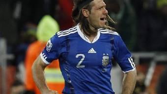 Verteidiger Martin Demichelis erzielte das 1:0 für Argentinien