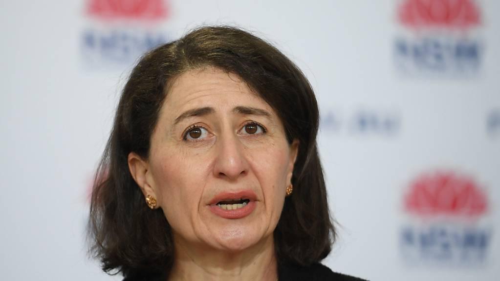 Die Regionalministerin Gladys Berejiklian.