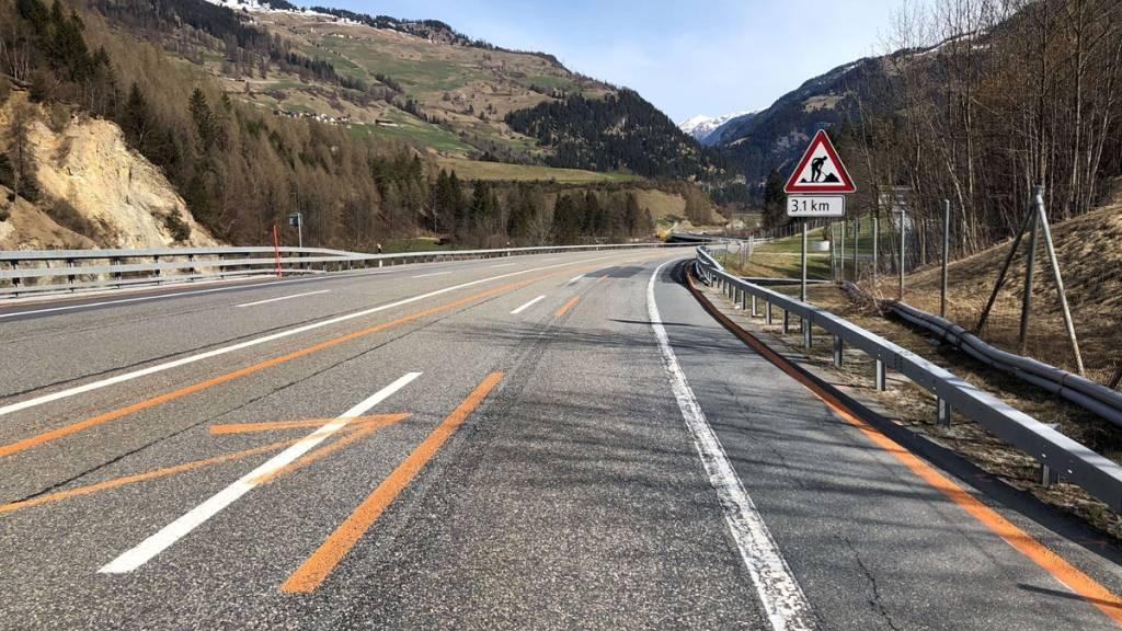 Auf der A13 bei Andeer ist der Polizei ein mutmasslicher Raser ins Netz gegangen. Er war mit 143 km/h statt der erlaubten 80 km/h gefahren.