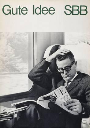 Werner Belmont prägte die legendären Plakatslogans.