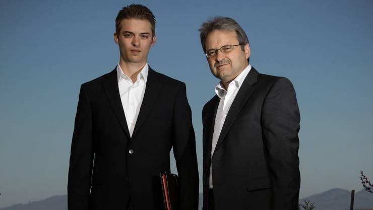Marcel (links) und Hans Grau aus Gränichen wären bereit für eine neue berufliche Herausforderung. Chris Iseli