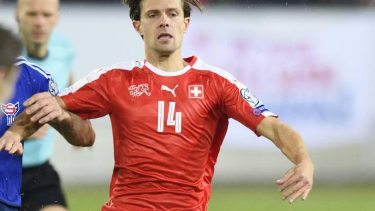 Valentin Stocker (hier im Dress des Schweizer Nationalteams) kehrt zum FC Basel zurück