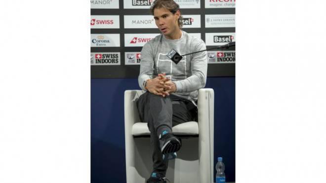 Entspannt und zuversichtlich: Rafael Nadal. Foto: Keystone