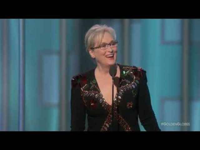 Meryl Streep an der Golden Globe-Verleihung 2017